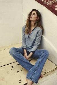 113020 114060 - Soul Flower Blouse Winslet Flare Jeans  - Campaign-min